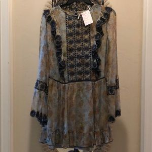 Free People Country Roads Top/Mini Dress